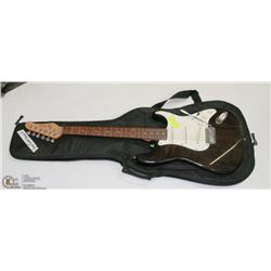 JAY TURSER ELECTRIC GUITAR BLACK WITH SOFT CASE