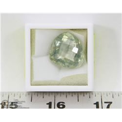 293) GENUINE GREEN AMETHYST, LARGE STONE, APPROX