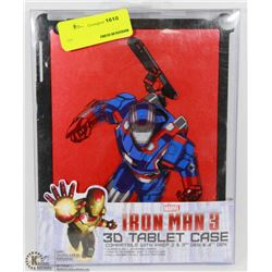 IRON MAN 3D TABLET CASE FOR IPAD 2,3, 4 GEN