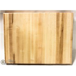 """16"""" HARD CANADIAN MAPLE CARVING BOARD"""
