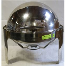 12'' S/S CIRCULAR CHAFFING DISHES WITH DOME LID