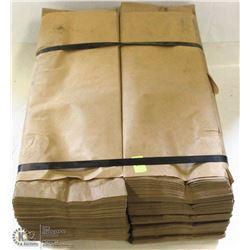 4 BAILS OF 6X2X15 NATURAL STOCK DESIGN LIQUOR BAGS