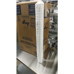 2 CASES OF NEW STYROFOAM CUPS