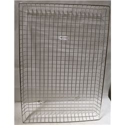 FULL SIZE STAINLESS WIRE BASKET
