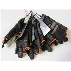 6 NEW PAIRS OF TRADES PROTECTION GLOVES WITH TOUCH
