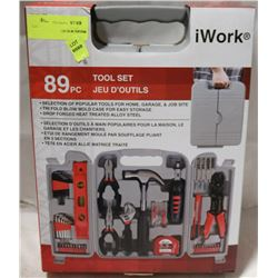 NEW IWORK 89PC TOOL SET