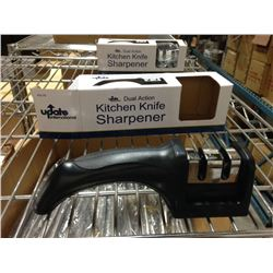 DUAL ACTION KNIFE SHARPENER