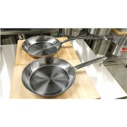 "12.5"" FRY PANS - LOT OF 2"
