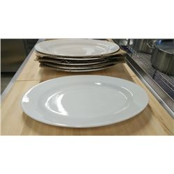 """15"""" OVAL PLATTERS - LOT OF 6"""