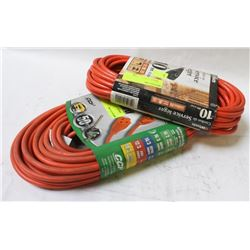 GROUP OF 2 NEW ASSORTED EXTENSION CORDS