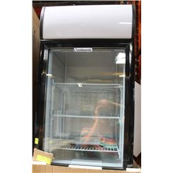 NEW COUNTERTOP REFRIGERATOR  - GLASS DOOR