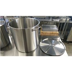 80QT EXTRA HD STAINLESS STOCK POT INDUCTION