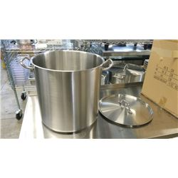 40QT HD STAINLESS STOCK POT INDUCTION CAPABLE