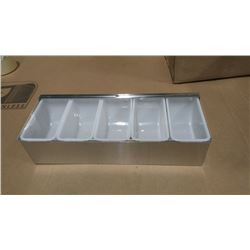 """15"""" STAINLESS BAR CADDY"""