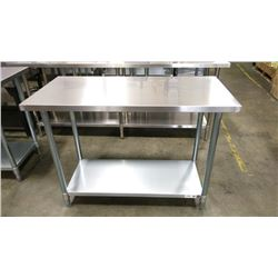 """24"""" X 48"""" S/S WORK TABLE"""