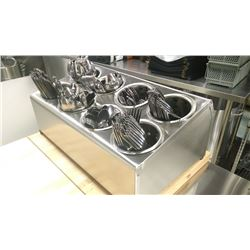 8 COMPARTMENT - 324 PIECE CUTLERY SET