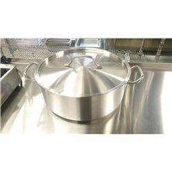 15QT HD STAINLESS BRAZIER INDUCTION CAPABLE