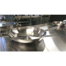 """12.5"""" EXTRA HD STAINLESS FRY PAN INDUCTION CAPABL"""