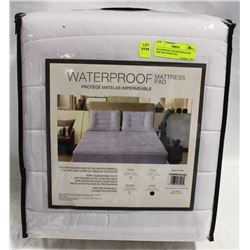 WATERPROOF MICROFIBER KING SIZE MATTRESS PAD