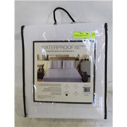 WATERPROOF MICROFIBER QUEEN SIZE MATTRESS PAD