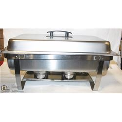 NEW FULL SIZE STAINLESS CHAFING DISH SET