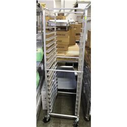 20-TIER ALUMINUM PAN RACK