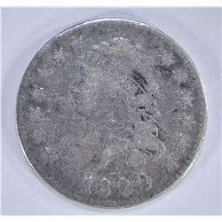 1820 CAPPED BUST DIME  FINE+
