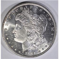 1884 MORGAN DOLLAR  GEM BU PL