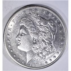 1894-S MORGAN DOLLAR  AU+