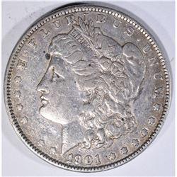 1901 MORGAN DOLLAR  XF+