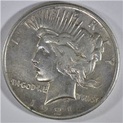 1921 PEACE DOLLAR  XF