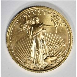 2002 1/10 oz AMERICAN GOLD EAGLE