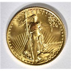 1986 1/10 oz AMERICAN GOLD EAGLE