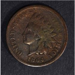 1864 L INDIAN HEAD CENT  VG