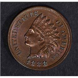 1888 INDIAN HEAD CENT  BU  R & B