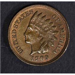 1909 INDIAN HEAD CENT  BU  R & B