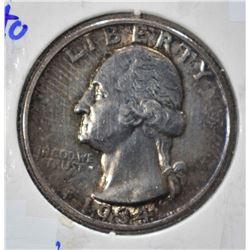 1934 WASHINGTON QUARTER  CH BU