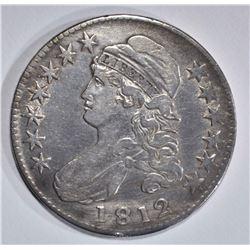 1812 CAPPED BUST HALF DOLLAR  XF