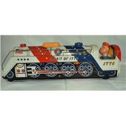 Modern Toys Spirit of 1776 Train Tin Made in Japan
