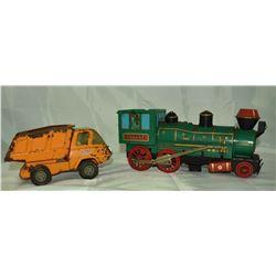 MARX Western Train Locomotive Toy
