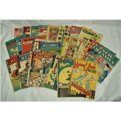 29 - VINTAGE COMICS; WALT DISNEY'S,