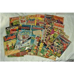 33 - VINTAGE COMICS; HARVEY COMICS,