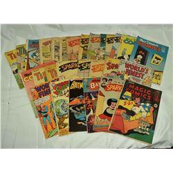 25 - VINTAGE COMICS; SPARKLER, TIP TOP