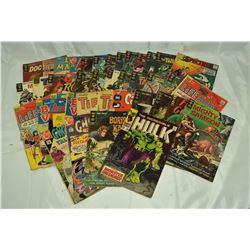40 - VINTAGE COMICS; TARZAN, BORIS