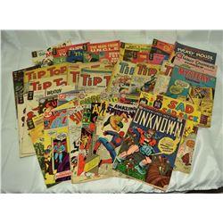 38 - VINTAGE COMICS; SUPER BOY, GOLD KEY