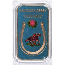 1986 KENTUCKY DERBY FERDINAND 1 oz