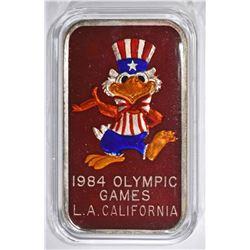 84 OLYMPIC GAMES LOS ANGELES CA 1oz