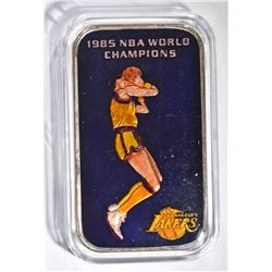 85 NBA WORLD CHAMPS LAKERS 1oz