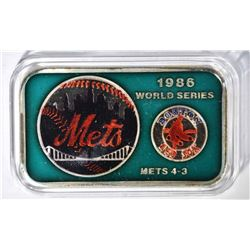 86 WORLD SERIES PLAYOFF 1oz