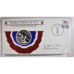 1972 WORLD SERIES COMMEM STERLING